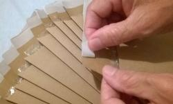 Envelope com plástico bolha dentro