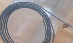 Folha de plástico flexível