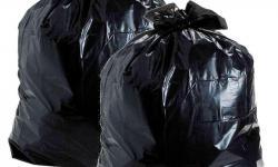 Saco de lixo espessura