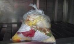 Saco para coleta de amostra de alimentos
