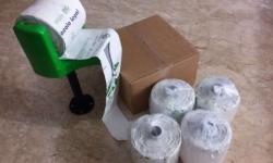 Sacola biodegradável