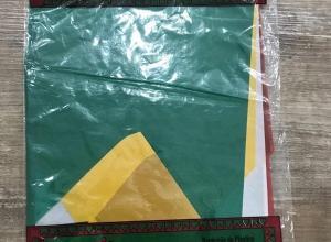 Bandeiras de plástico