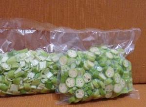 Embalagem a vácuo alimentos