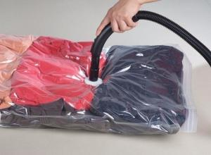 Embalagem a vácuo para edredom