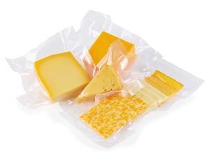 Embalagem a vácuo para queijo
