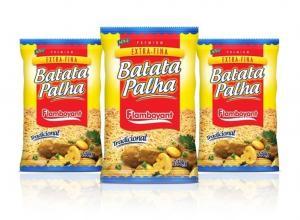 Embalagem para batata palha