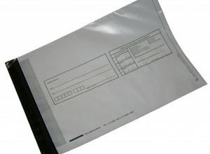 Envelope de plástico ofício