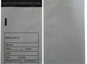 Envelope de segurança sangria de caixa