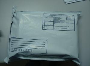 Envelope destinatário e remetente grande
