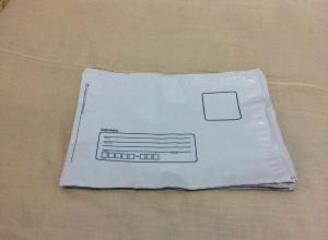 Envelope grande remetente e destinatário