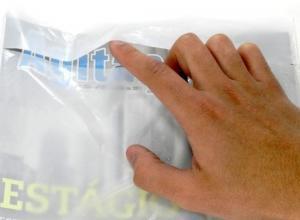 Envelope plástico fronha