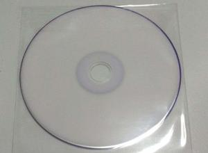 Envelope plástico para cd