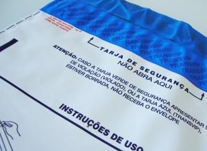 Envelopes segurança hot melt