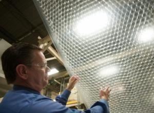 Fabricante plástico bolha