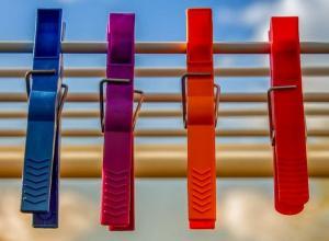 Plástico colorido