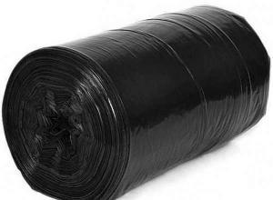 Plástico preto