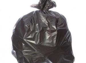 Saco lixo preto