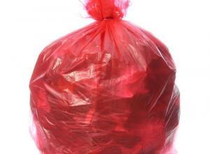 Saco plástico para lixo