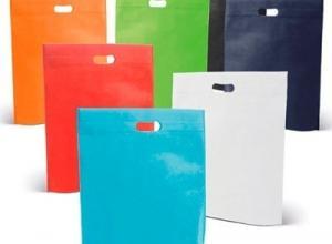 Sacolas recicláveis
