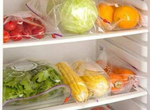 Sacos para congelar alimentos